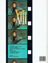 Verso de XIII -5a1991/01- Rouge total