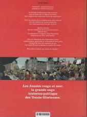Verso de Les années rouge & noir -1- Agnès