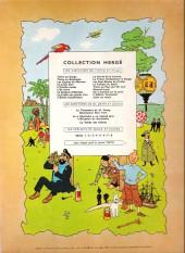 Verso de Tintin (Historique) -9B26- Le crabe aux pinces d'or