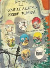 Verso de Pierre Tombal -6a1990- Côte à l'os