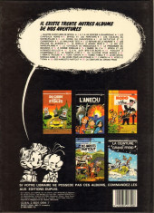 Verso de Spirou et Fantasio -31- La boîte noire