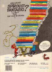 Verso de Spirou et Fantasio -3e83- Les chapeaux noirs