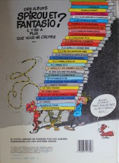 Verso de Spirou et Fantasio -13d83- Le voyageur du mésozoïque
