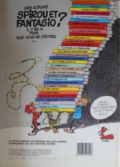 Verso de Spirou et Fantasio -14e83- Le prisonnier du Bouddha