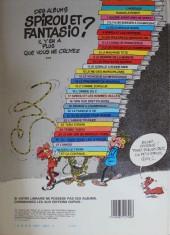 Verso de Spirou et Fantasio -19a1983- Panade à Champignac