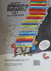 Verso de Spirou et Fantasio -24b84- Tembo Tabou