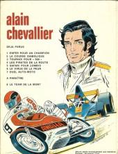 Verso de Alain Chevallier -7a- Duel Auto Moto