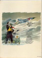 Verso de Tanguy et Laverdure -16a77- La terreur vient du ciel