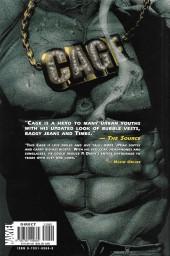 Verso de Cage Vol. 2 (Marvel MAX - 2002) -INT- Cage