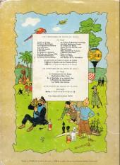 Verso de Tintin (Historique) -19B35- Coke en stock