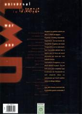 Verso de Universal War One -4b2006- Le déluge