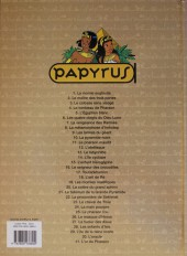 Verso de Papyrus -29a10- L'île de la reine morte