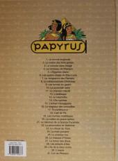 Verso de Papyrus -30a10- L'oracle