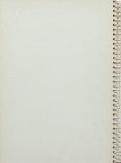 Verso de Les carnets volés du Major - Les Carnets volés du Major - Les Aventures de Moebius & Hergé feuilletonistes