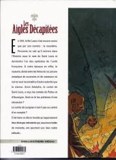Verso de Les aigles décapitées -1b00- La nuit des jongleurs