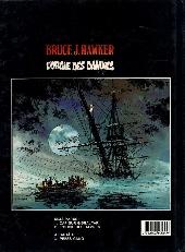 Verso de Bruce J. Hawker -2- L'orgie des damnés