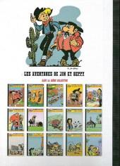 Verso de Jim L'astucieux (Les aventures de) - Jim Aydumien -10- Cinq colosses à la une
