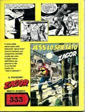 Verso de Zagor (en italien) -281- Il tesoro della citta'fantasma