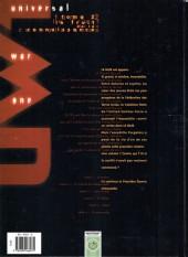 Verso de Universal War One -2b2006- Le fruit de la connaissance