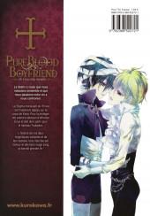 Verso de Pure Blood Boyfriend - He's my only vampire -10- Tome 10