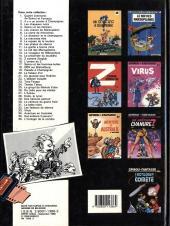 Verso de Spirou et Fantasio -37- Le réveil du Z