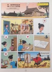 Verso de Lucky Luke (en italien) -5- Il pittore
