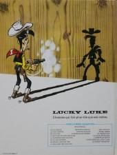 Verso de Lucky Luke -39a82- Chasseur de primes