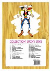 Verso de Lucky Luke -4f13- Sous le ciel de l'ouest