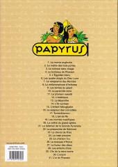 Verso de Papyrus -6d10- Les quatre doigts du dieu lune