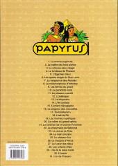 Verso de Papyrus -8c10- La métamorphose d'imhotep