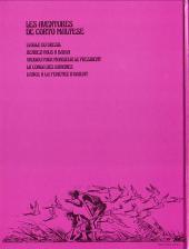 Verso de Corto Maltese (première série cartonnée) -5- L'ange à la fenêtre d'Orient