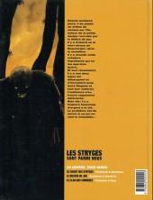 Verso de Le maître de jeu -2b2003- Prémonition