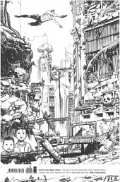 Verso de Tokyo Ghost (Remender/Murphy) -1TL- Eden atomique