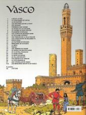 Verso de Vasco -27- Les citadelles de sable