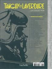 Verso de Tanguy et Laverdure - La Collection (Hachette) -4test- Escadrille des cigognes