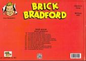 Verso de Luc Bradefer - Brick Bradford -42SQ18- Brick Bradford - Strips quotidiens tome 18