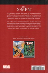 Verso de Marvel Comics : Le meilleur des Super-Héros - La collection (Hachette) -8- Les X-Men