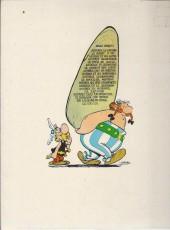 Verso de Astérix -18a75- Les lauriers de César