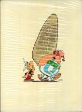 Verso de Astérix -11b1974- Le bouclier Arverne