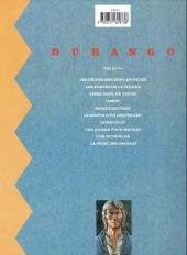 Verso de Durango -3c1995- Piège pour un tueur