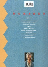 Verso de Durango -8a1995- Une raison pour mourir