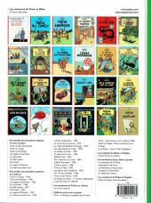 Verso de Tintin (Historique) -17c9- On a marché sur la lune