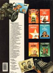 Verso de Spirou et Fantasio -44- Le rayon noir