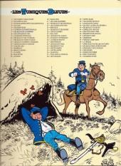 Verso de Les tuniques Bleues -7pub- Les bleus de la marine