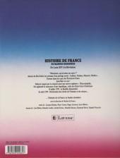 Verso de Histoire de France en bandes dessinées (Intégrale) -5c- De Louis XIV à la Révolution