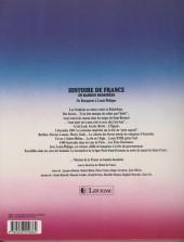 Verso de Histoire de France en bandes dessinées (Intégrale) -6b- De Bonaparte à Louis-Philippe