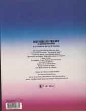 Verso de Histoire de France en bandes dessinées (Intégrale) -INT7a- De la révolution de 1848 à la III ème République