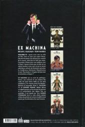 Verso de Ex Machina (Urban Comics) -4- Volume IV