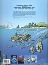 Verso de Les animaux marins en bande dessinée -4- Tome 4