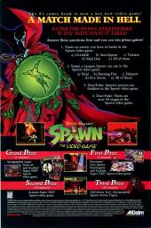 Verso de Spawn (1992) -40- Fugitives